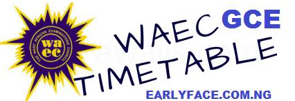 2019 WAEC GCE